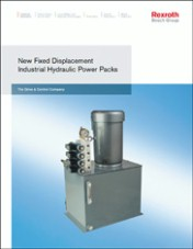 New Fixed Displacement Industrial Hydraulic Power Packs