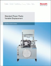 Standard Power Packs, Variable Displacement