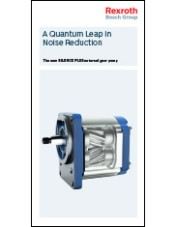A Quantum Leap in Noise Reduction - The new SILENCE PLUS external gear pump