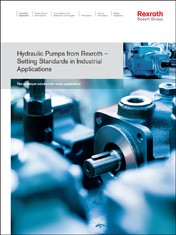 Hydraulic Pumps from Rexroth - Setting Standards in Industrial Applications