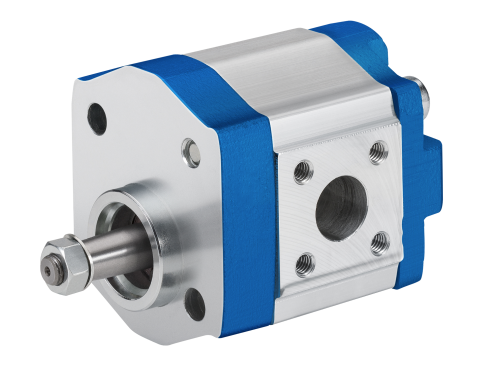 External gear motors built for high pressure applications that combine small size requirements and low weight specifications.