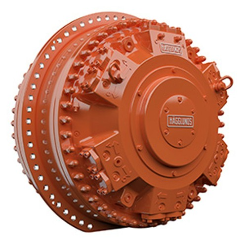 Rexroth hydraulic radial piston motors with unmatched power density