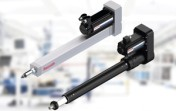 High-performance alternative to pneumatic and hydraulic cylinders with flexible control even at high forces.