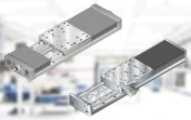 High load capacity and rigidity for linear transport in most environments.