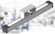 Linear axes designed for up to 5 m/s travel speed and 5500 mm distance.