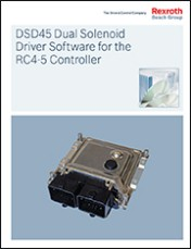 DSD45 Dual Solenoid Driver Software