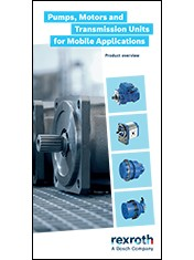 Pumps, Motors, and Transmission Units for Mobile Applications