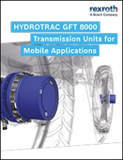 HYDROTRAC GFT 8000 Transmission Units for Mobile Applications