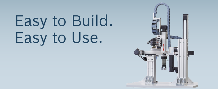 EasyHandling - Easy to Build. Easy to Use.