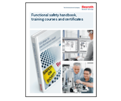 Functional safety handbook, training courses and certificates