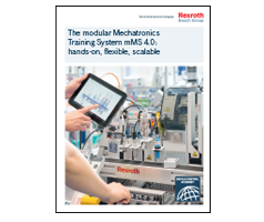The modular Mechatronics Training System mMS 4.0: hands-on, flexible, scalable